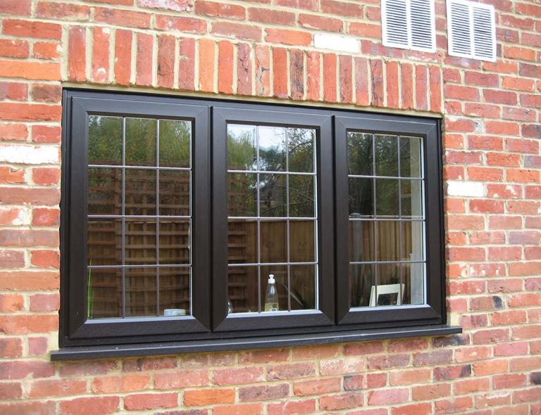 Black Casement Windows : Casement windows bradford upvc