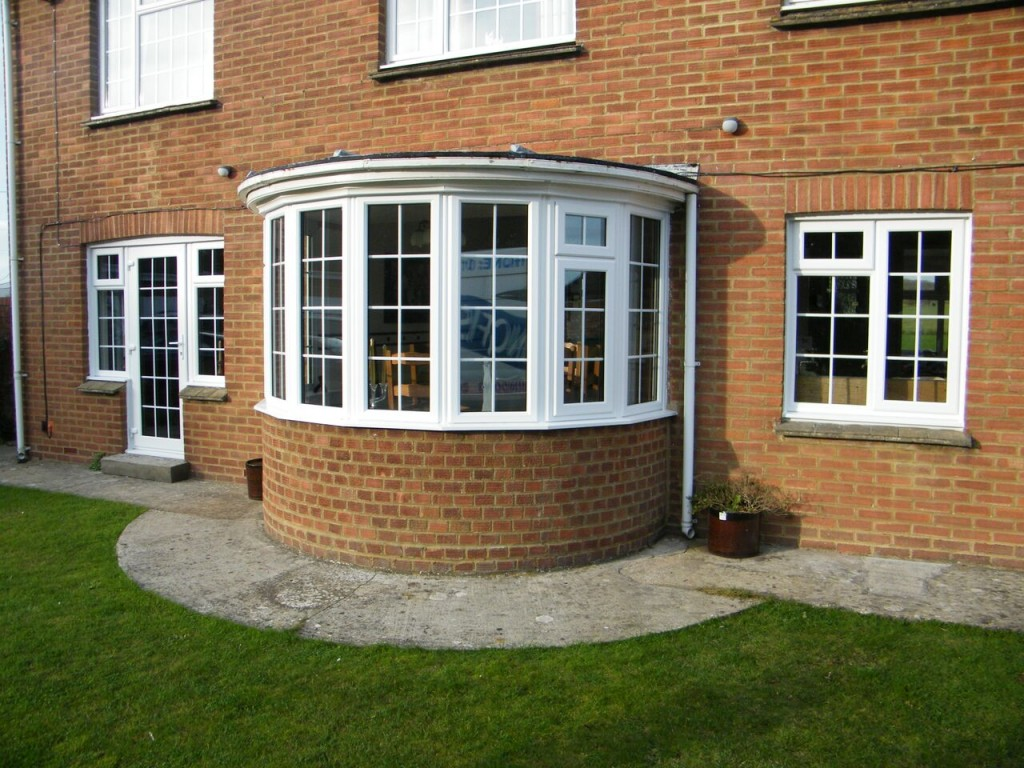 Bay windows bradford upvc windows for Curved bay window