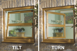 Tilt N Turn Bradford Upvc Windows